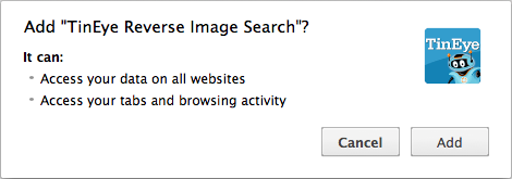 tineye_chrome_extension_before